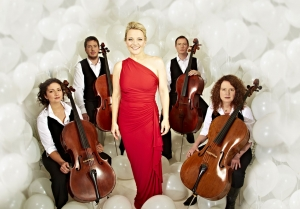 Claire Martin and the Montpellier Cello Quartet Event Image