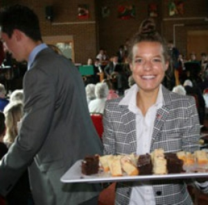 Cake at the College Event Image