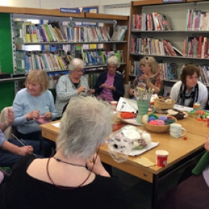 Hurst Knit and Natter Open Day & Weaving Demonstration Event Image