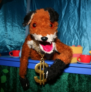 WishWorks Puppet Show. Goldifox. (Under 16's ticket). Event Image
