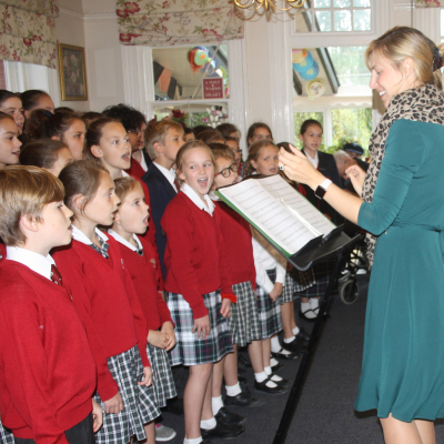 Children Sing for the Residents of Ladymead Event Image