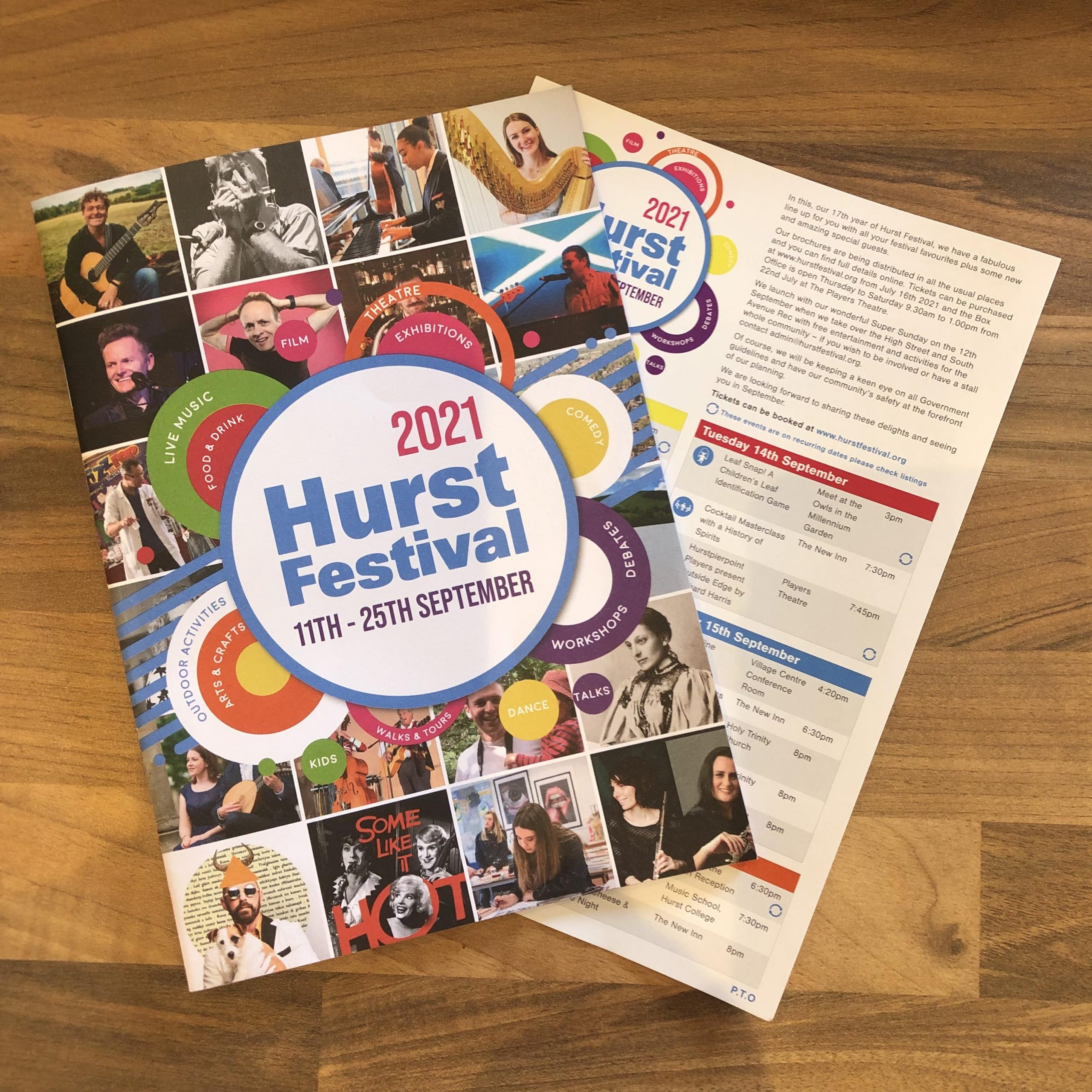 The Festival Brochure is here!